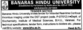Intravital Real time confocal thrombus (Banaras Hindu University)