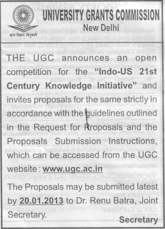 21 st Century Knowledge Initiative (University Grants Commission (UGC))