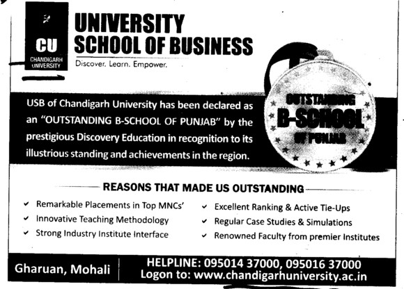 Remarkable Placements in top MNCs etc (Chandigarh University)