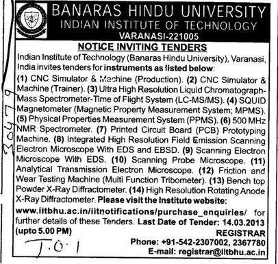 CNC Simulator and Machine etc (Banaras Hindu University)