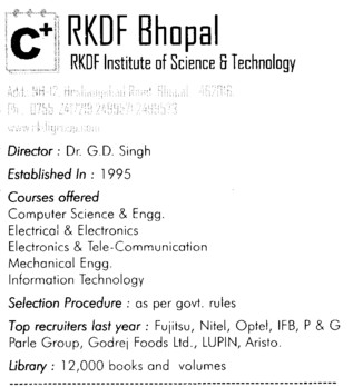 RKDF Engg College (RKDF Institute of Science and Technology)