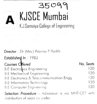 KJSCE Mumbai (KJ Somaiya College of Engineering (KJSCE))