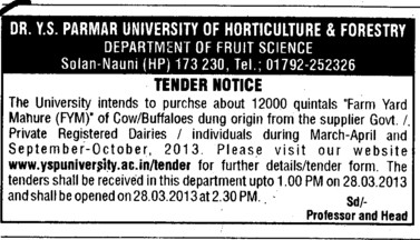 Farm yard mahure (Dr Yashwant Singh Parmar University of Horticulture and Forestry)