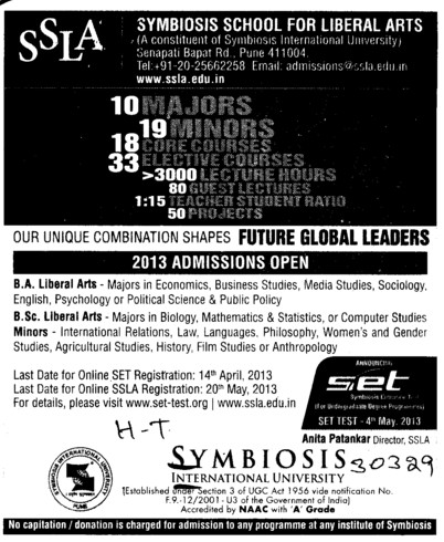 how to get admission in symbiosis for mba