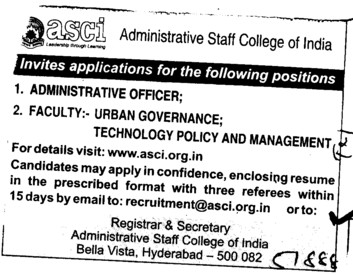 Administrative Officer (KKR and KSR Institute of Technology and Sciences (KITS))