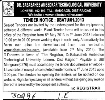 Software works (Dr Babasaheb Ambedkar Technological University, Lonere)