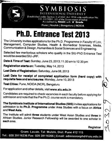 UGC announces new norms for PhD course