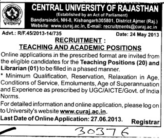 Librarian (University of Rajasthan)