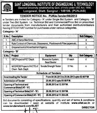 Tensile Strength Tester (Sant Longowal Institute of Engineering and Technology SLIET)