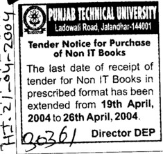 Purchase of non IT books (IK Gujral Punjab Technical University PTU)