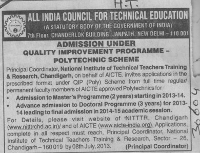 Quality improvement programme (All India Council for Technical Education (AICTE))