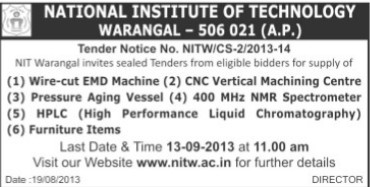 Wire cut EMD Machine (National Institute of Technology NIT)