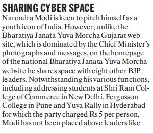 Sharing cyber space (Shri Ram College of Commerce)