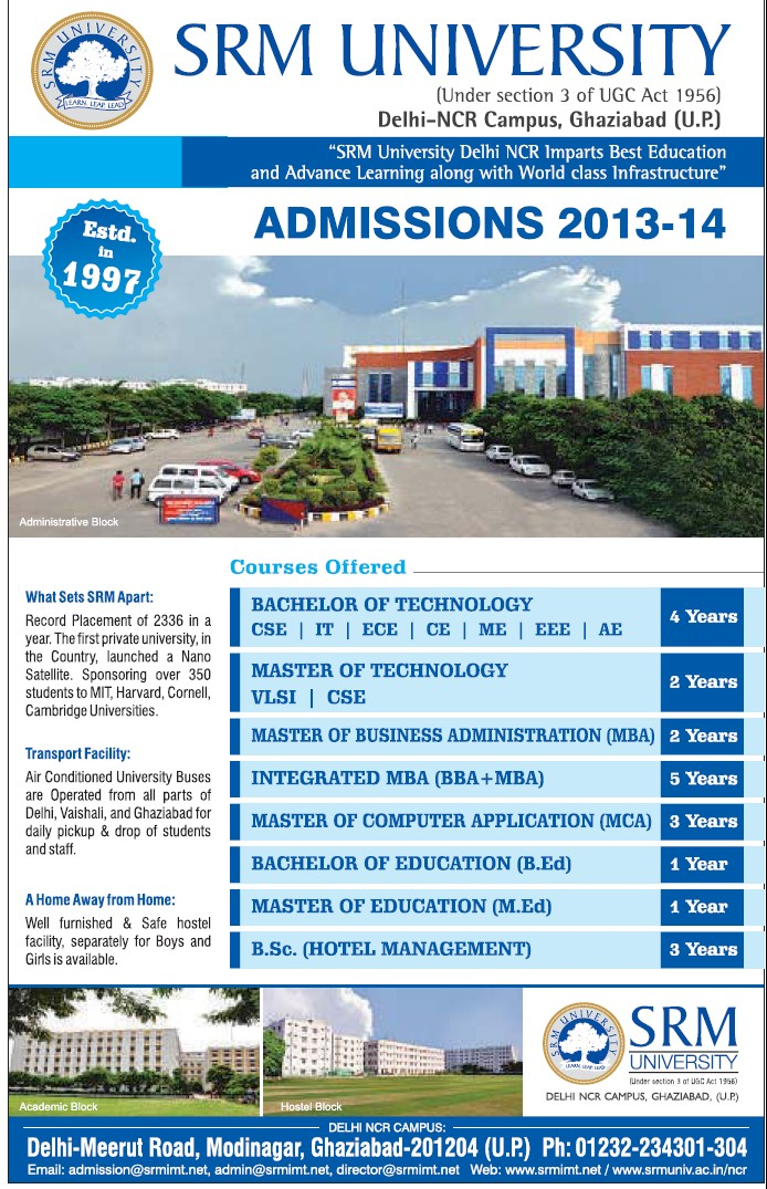 BBA plus MBA (SRM University Delhi NCR Campus (SRM Institute of Management and Technology (SRMIMT)))