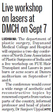 Love Workshop on lasers (Dayanand Medical College and Hospital DMC)
