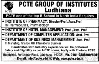 Director and Asstt Professor (PCTE Group of Insitutes Baddowal)