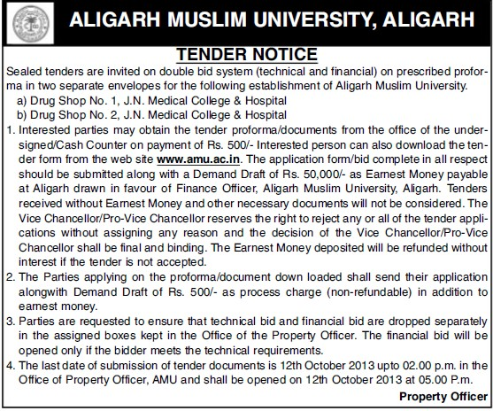 Drug shop (Aligarh Muslim University (AMU))