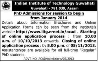 PhD course (Indian Institute of Technology IIT)