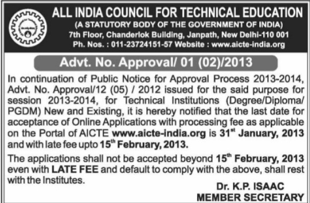 PGDM (All India Council for Technical Education (AICTE))