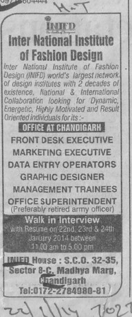 Front Desk Executive (INIFD)
