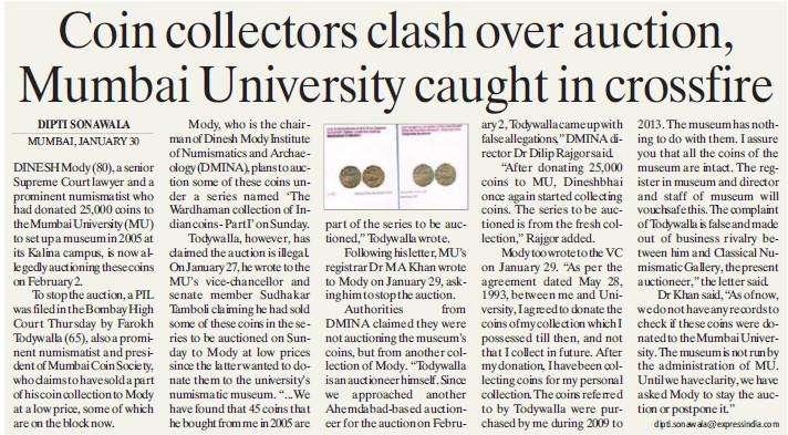 MU caught in crossfire (University of Mumbai (UoM))