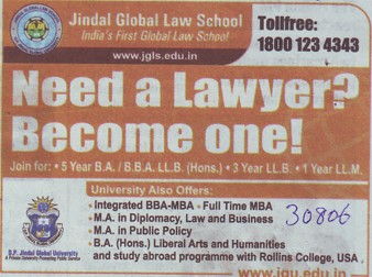 MA in Public Policy (Jindal Global Law School (JGLS))
