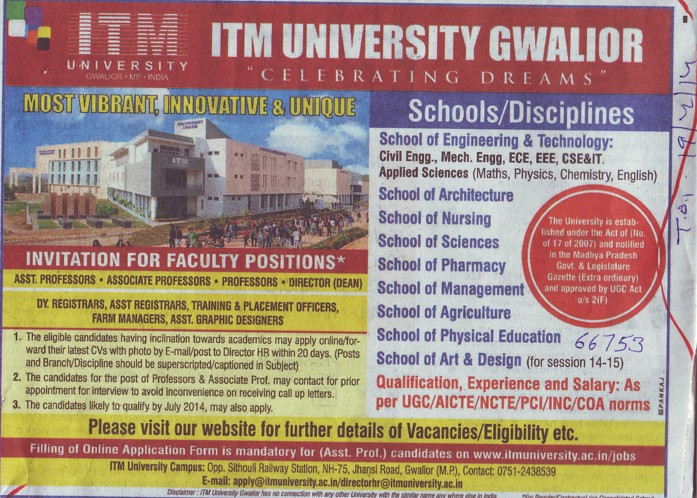 Farm Manager and Graphic Designer (ITM University)