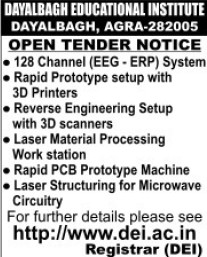 Supply of Laser Strucuturing for Microwave Circuitry (Dayalbagh Educational Institute Deemed University)