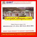 BBA and BSc IT  courses (Seth Sushil Kumar Bihani SD Institute of Management and Information Technology (BIMIT))