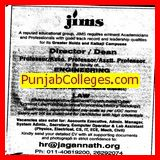 Director and Dean (Jagannath Institute of Management Studies (JIMS))