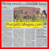 Moving towards a sustainable future (TERI University)
