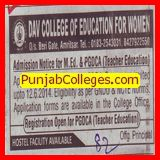 M Ed and PGDCA (DAV College of Education for Women)