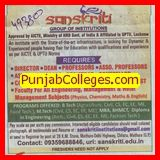 Lab Technician and Receptionist (Sanskriti Group of Institutions)