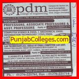 Asstt Professor for information technology (PDM College of Engineering)