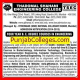 BE in Biotechnology and IT (Thadomal Shahani Engineering College)
