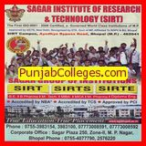 B Pharma, MBA and MCA Programme (Sagar Institute of Research and Technology)