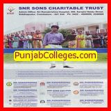 College best for give knowledge to students (SNR Sons College)