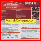 BE in Aeronautical Engineering (KCG College of Technology)