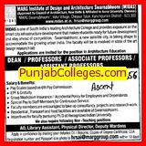 Dean and Assistant Professor (MARG Institute of Design and Architecture Swarnabhoomi (MIDAS))