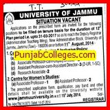 Associate Professor cum DR (Jammu University)